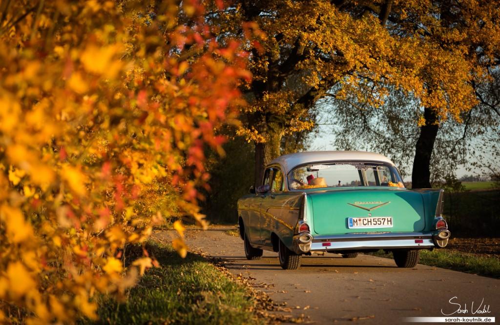 Chevrolet Bel Air 1957 | Oldtimerfotografie München