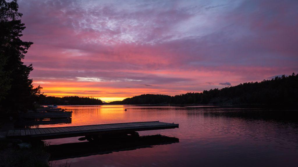 Jahresrückblick 2017 - Sonnenaufgang in Schweden | Warum ich Fotografiere